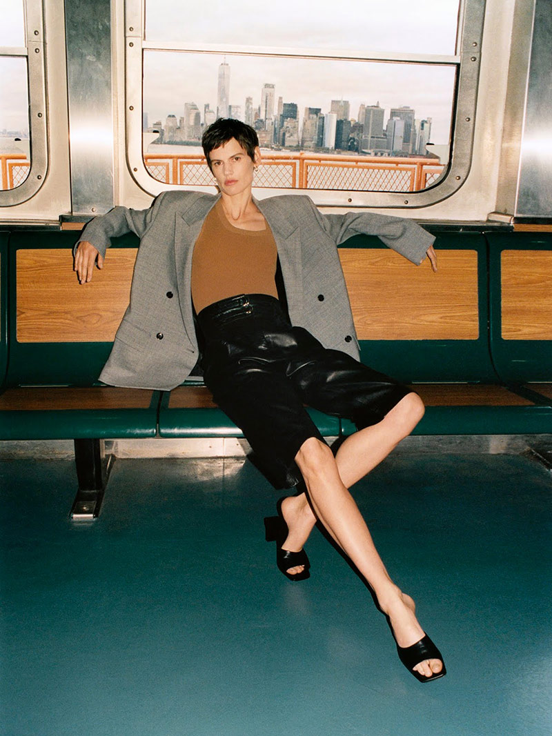 Photo Saskia de Brauw by Quentin De Briey for Porter Edit