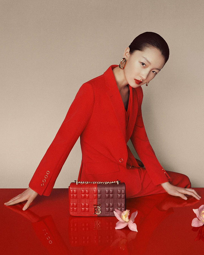 Photo He Cong & Zhou Dongyu for Burberry Chinese New Year 2020