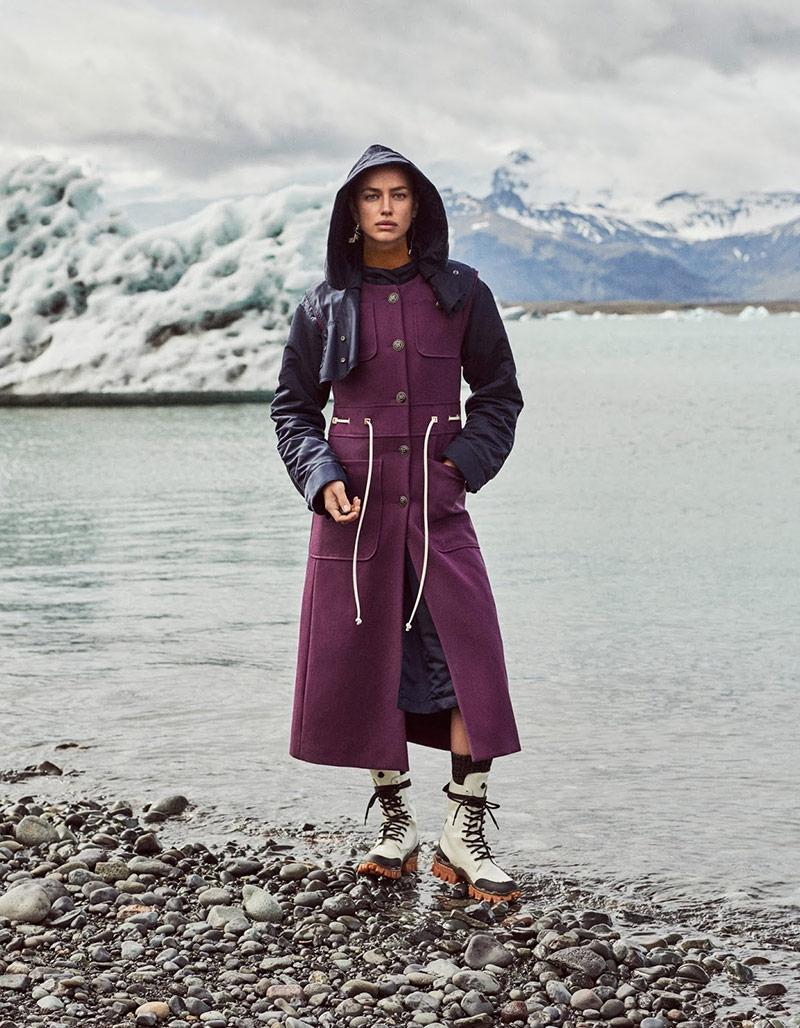 Photo Irina Shayk for Vogue Japan February 2020