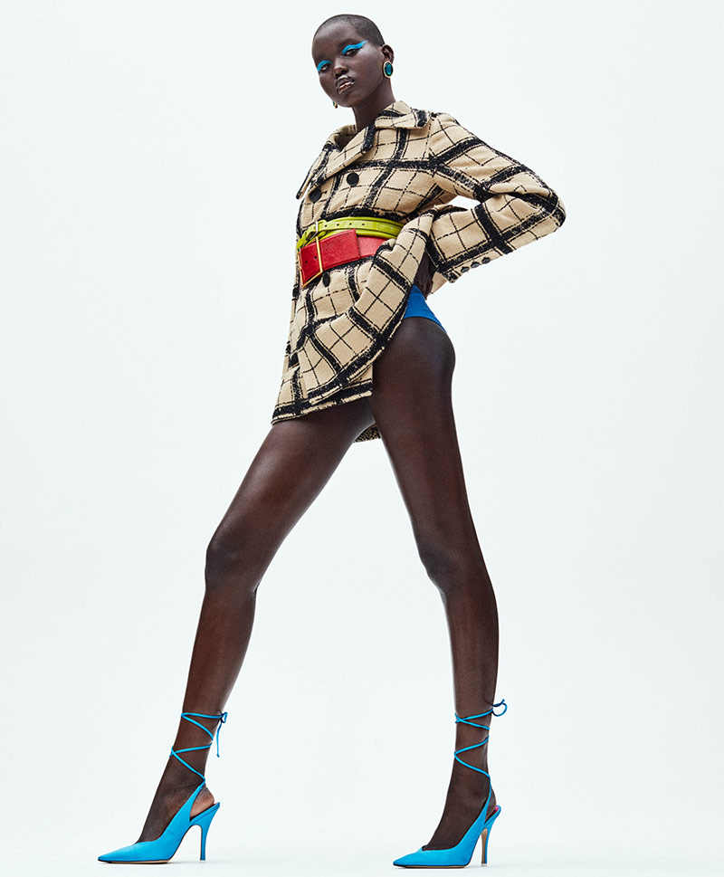 Photo Adut Akech by Daniel Jackson for iD