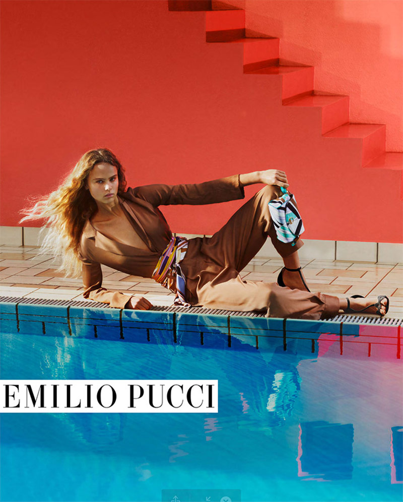 Photo Emilio Pucci Spring/Summer 2020 Campaign