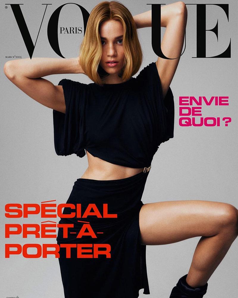 Photo Vogue Paris March 2020