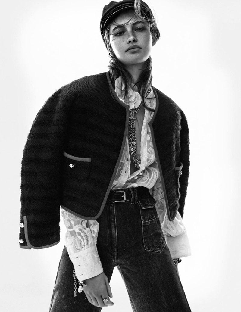 Photo Grace Elizabeth by Christian MacDonald for Vogue Paris