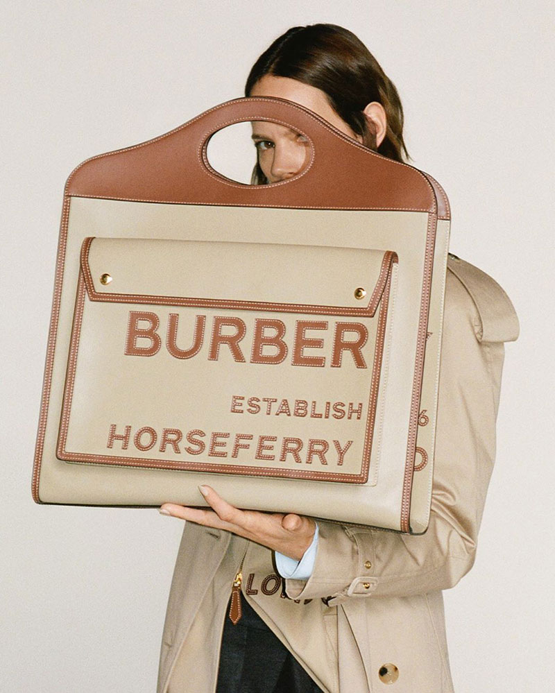 Photo Burberry S/S 2020 by Riccardo Tisci