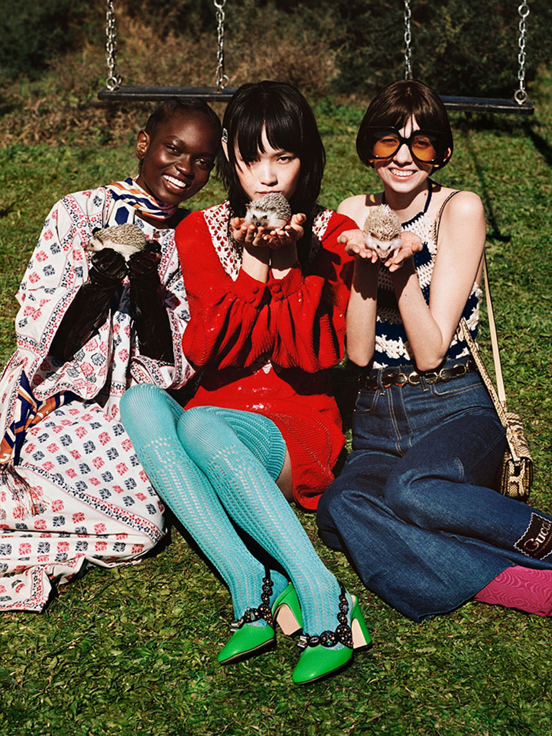 Photo Gucci Pre Fall 2020 by Alasdair McLellan