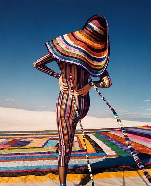Photo Kendall Jenner for Missoni 2020