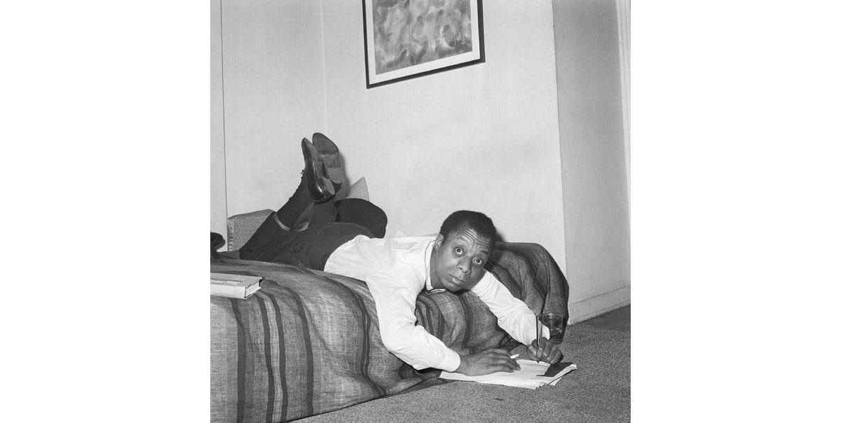 Photo James Baldwin on Freedom, Identity and Love