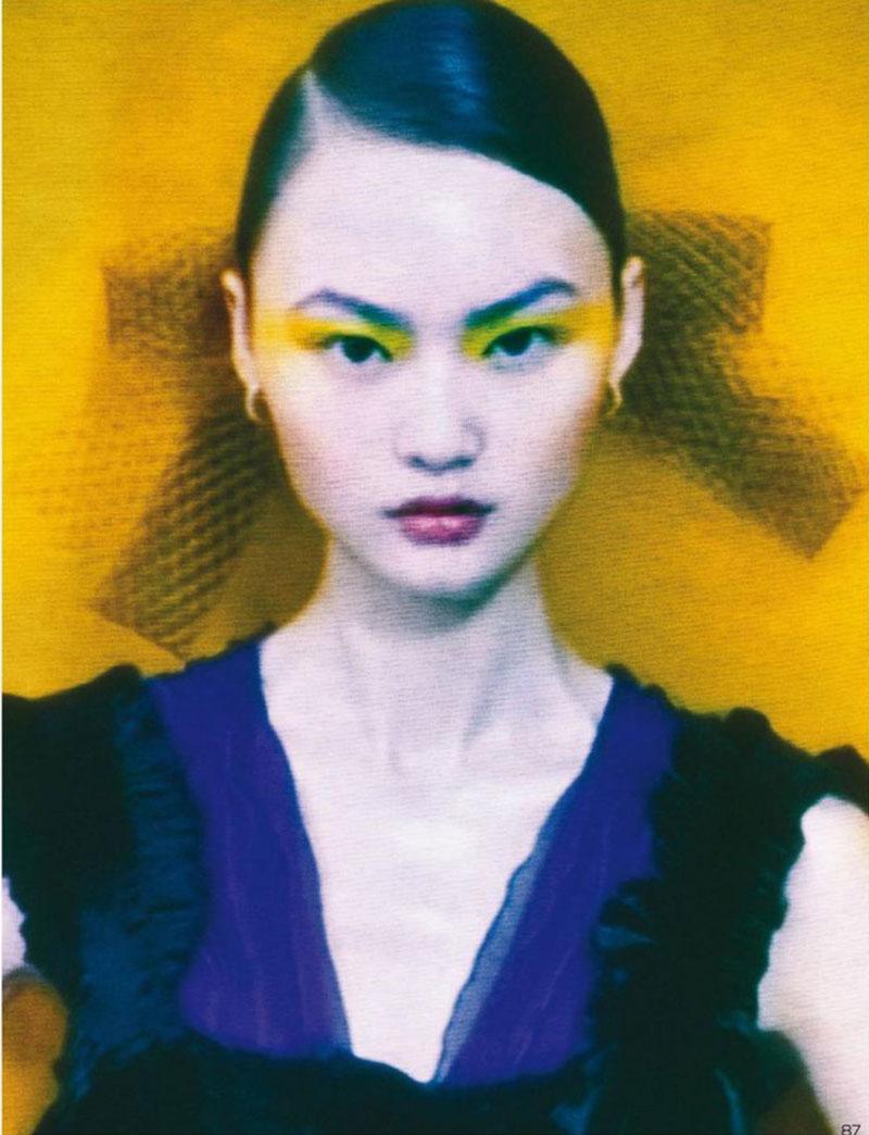 Photo He Cong by Elizaveta Porodina for Vogue China August 2020