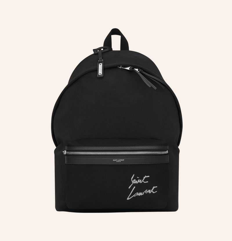 saint-laurent-embroidered-backpack