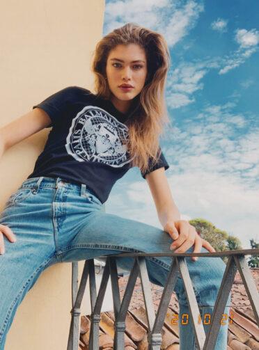 Valentina Sampaio for The Fashionography
