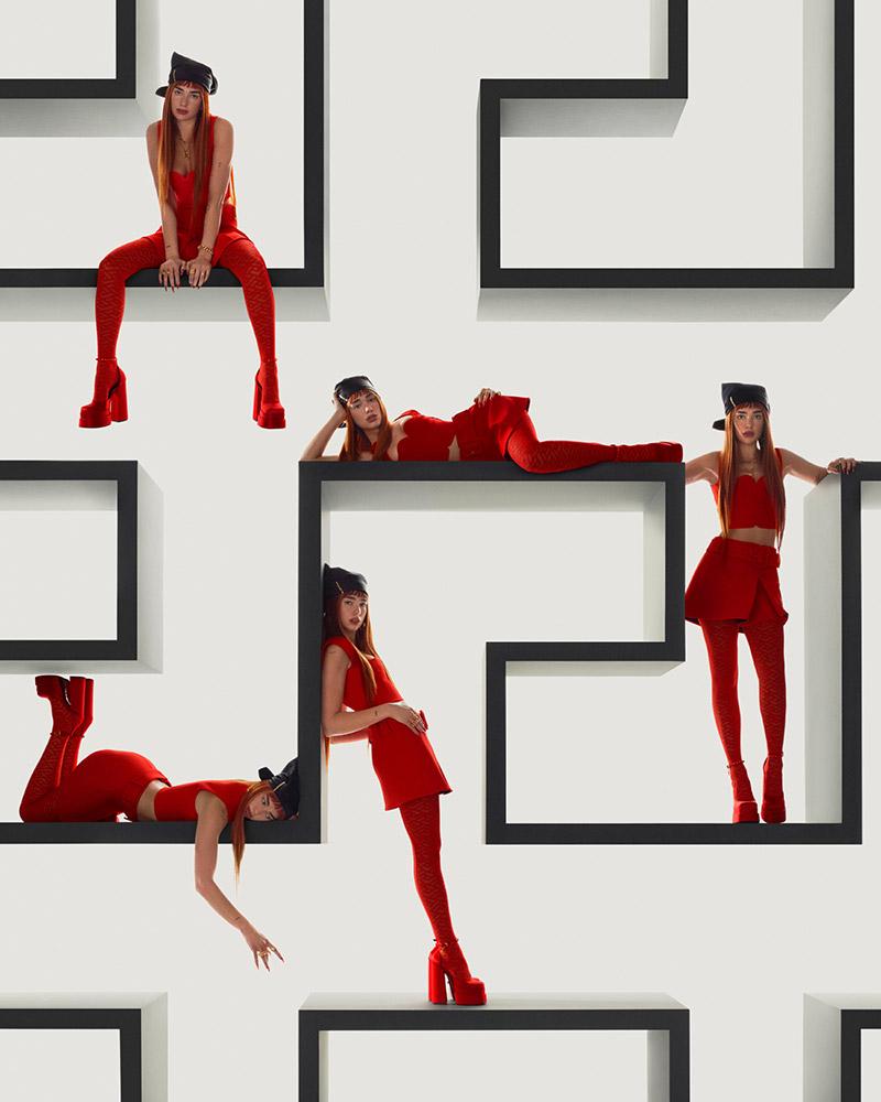 Dua Lipa Faces Versace's Fall/Winter 2021 Campaign