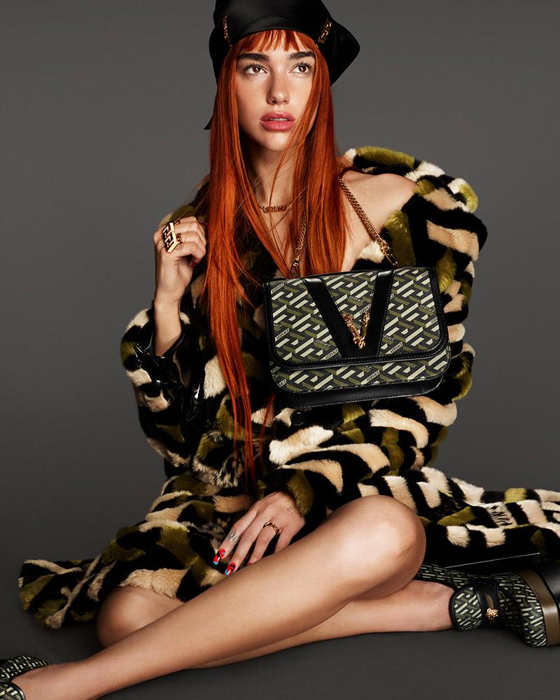 Dua Lipa Versace 2021