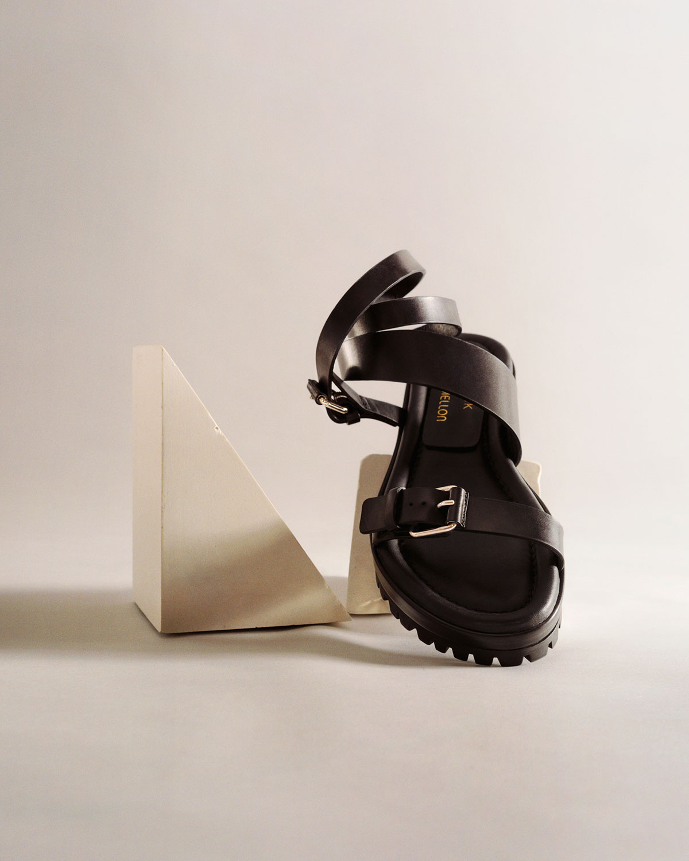 Tamara Mellon X Irina Shayk Sand Dune Sandals