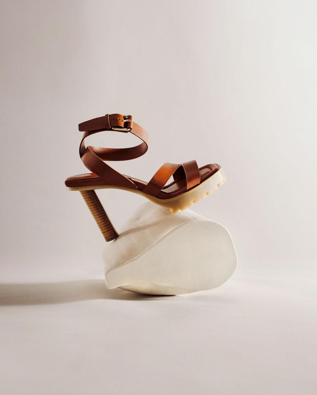 Tamara Mellon X Irina Shayk Sun Valley Sandals