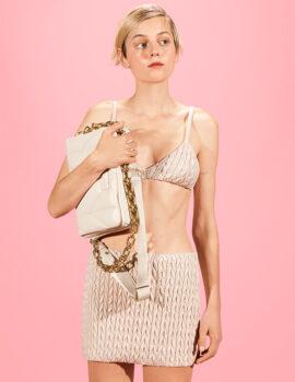 Emma Corrin Stars in Miu Miu Fall/Winter 2021 Campaign