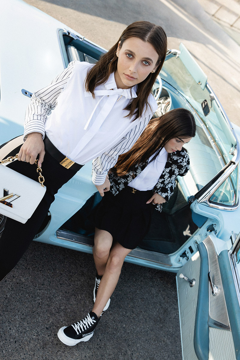Louis Vuitton Emma Chamberlain Charli D'Amelio