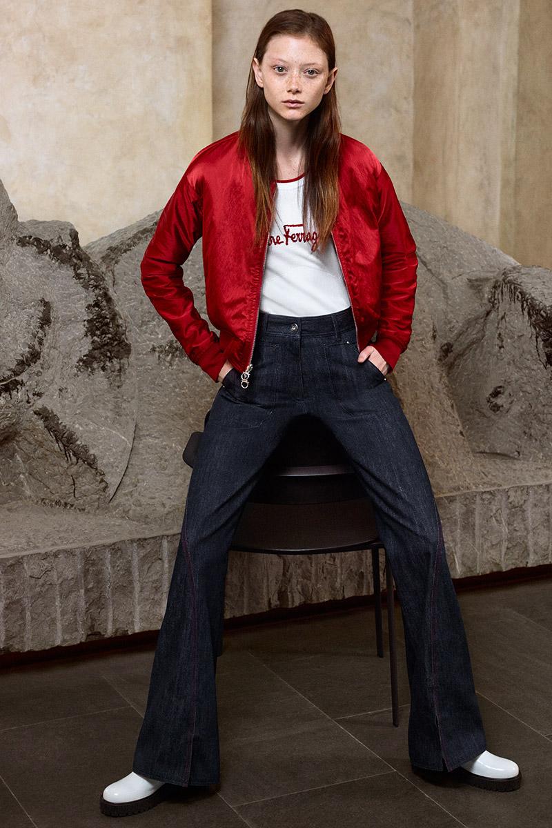 Salvatore Ferragamo Pre-Spring 2022 Jeans