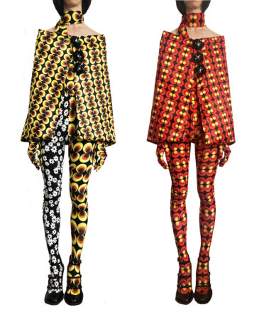 Vintage-Inspired French Designer Lauren Perrin Aims a Spotlight on Eye-Catching Tights and Gloves