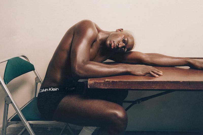Moses Sumney for Calvin Klein