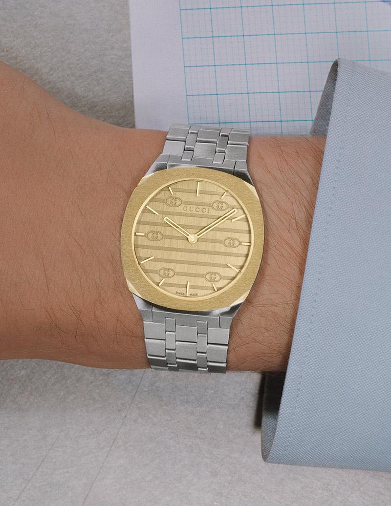 GUCCI 25H Watch