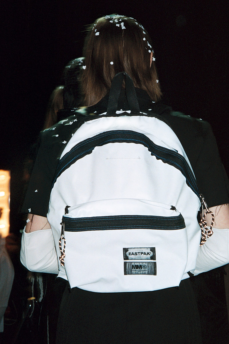MM6 x EASTPAK PADDED Reversible backpack