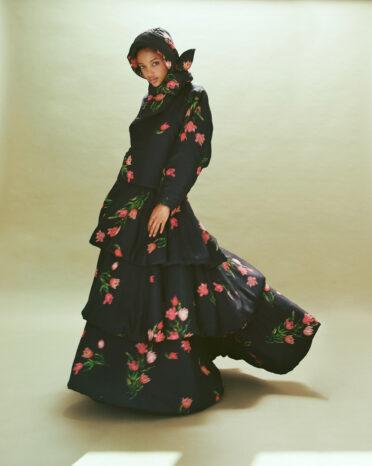 Aya Jones in KENZO Fall Winter 2021 for The Fashionography