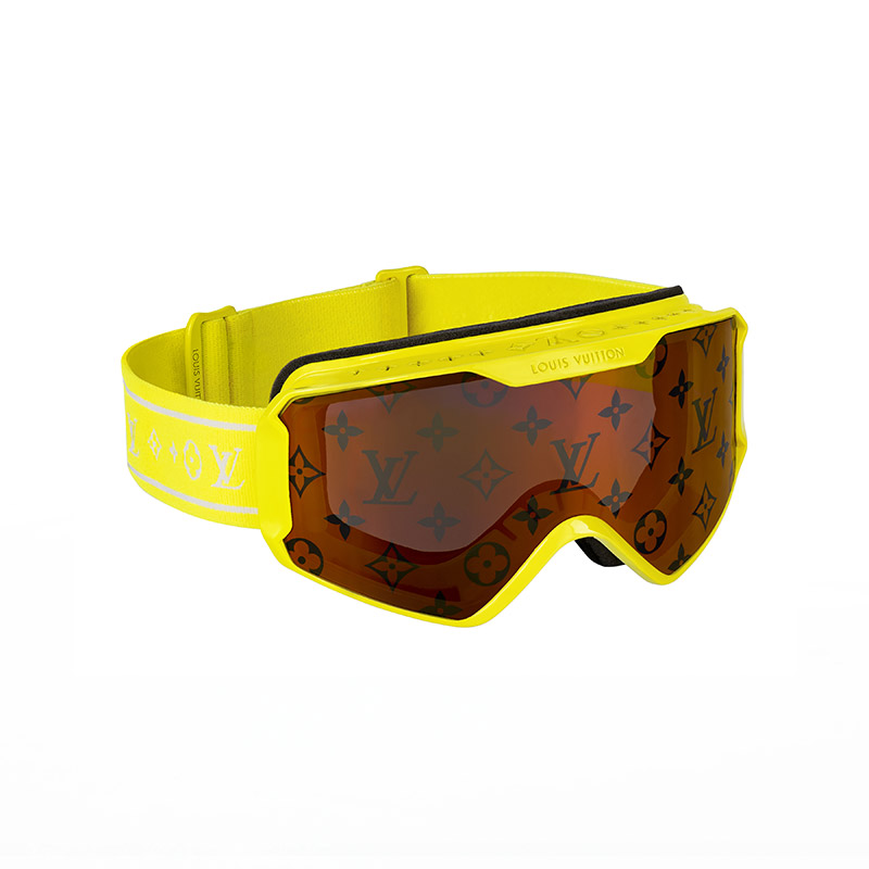 Louis Vuitton Ski Mask 2021 Yellow